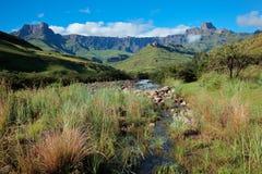 Drakensberg mountains Royalty Free Stock Photography