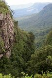 Drakensberg Mountains green canyon, South Africa Royalty Free Stock Photo