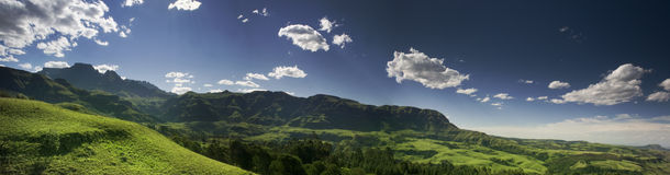 Drakensberg Pano Stock Photo