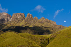 Drakensberg peaks Royalty Free Stock Image