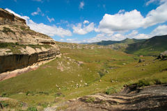 Drakensberg scenery Royalty Free Stock Photo