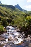 Drakensberg stream. A small, rocky mountain stream in south africa's drakensberg mountain range Stock Photography
