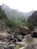 Drakensberg Tugela rzeka Obrazy Stock