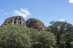 Drakensberg w południowym Africa blisko hoedspruit obrazy stock