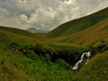 The Drakensberg Wilderness. A wild, rugged wilderness, where you can still be the first person to explore an area. A wilderness which captures the soul and never Royalty Free Stock Photography