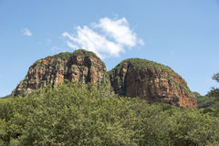 Drakensberg in Zuid-Afrika dichtbij hoedspruit Royalty-vrije Stock Foto