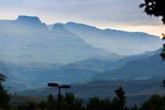 Drakensburg Imágenes de archivo libres de regalías