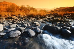 Drakensburg river Stock Images