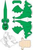 drakepapper Arkivbild