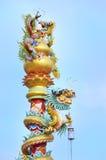 Drakepol i josshus Royaltyfria Bilder