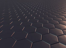 Drakeskalamodell i 3d Arkivfoto