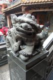 drakeskulptur royaltyfri foto