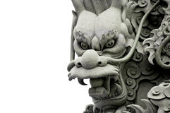 drakeskulptur royaltyfri fotografi
