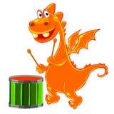 drakevalsorange Arkivbild