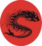 drakevektor Royaltyfri Bild