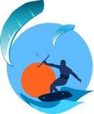 drakewind stock illustrationer