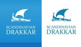 Drakkar - vikings skepp Royaltyfria Foton