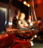 Dram of Scotch whisky or cognac Stock Images