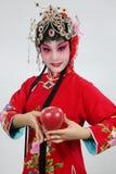 Drama actress. The portrait of  drama actress Stock Photo