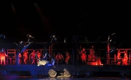 Drama chino de la danza moderna Imagen de archivo libre de regalías