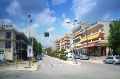 Drama city view,Greece Royalty Free Stock Photo