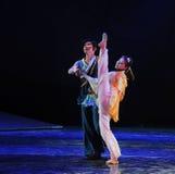 Drama de la danza del ballet- de la danza popular la leyenda de los héroes del cóndor Fotografía de archivo