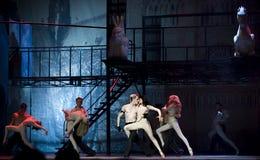 Drama de la danza moderna Imágenes de archivo libres de regalías