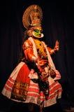 Drama indio clásico en Kerala Imagen de archivo libre de regalías