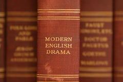 Drama inglés moderno Imágenes de archivo libres de regalías