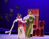 "Drama long sleeve-Kunqu Opera ""the West Chamber"" Royalty Free Stock Image"