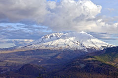 The drama of Mt. St. Helen's Washington state. Royalty Free Stock Photography