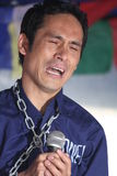 Drama que utiliza Tíbet libre foto de archivo libre de regalías