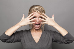 Free Drama Queen Concept Stock Photography - 62321022