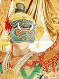 The drama Thailand. Beautiful dress Royalty Free Stock Photo