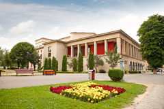 Drama Theater in Brasov, Romania. Stock Images