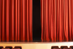 Drama at theater Stock Photography