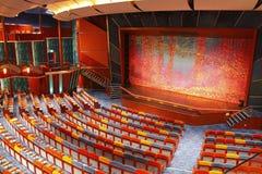 Dramastufetheater Lizenzfreie Stockfotos