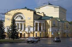 Dramata teatr w Yaroslavl, Rosja Obrazy Stock