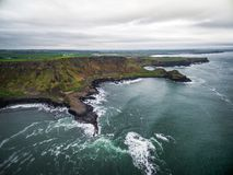 Destination -Giant causeay in Ireland stock image