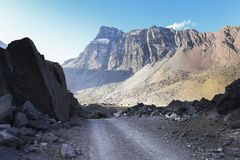 Dramatic andes mountains Stock Photography