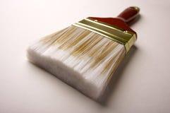 Dramatic Angle of Paint Brush Stock Image