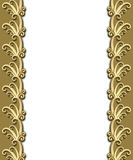 Dramatic Art Deco Frame stock image