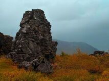 This dramatic autumn photo from Thingvellir