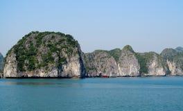 Dramatic beautiflu islands in the sea royalty free stock image