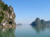 Dramatic beautiflu islands in the sea royalty free stock photos