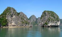 Dramatic beautiflu islands in the sea stock photos