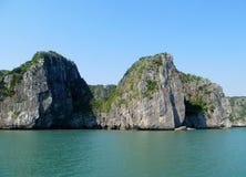 Dramatic beautiful islands in the sea Stock Photos