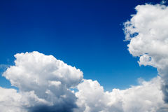 Dramatic blue sky Royalty Free Stock Images