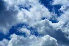 Dramatic blue sky Royalty Free Stock Photo