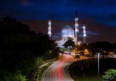 Dramatic blue sky sunrise at Sultan Salahuddin Abdul Aziz Shah M Royalty Free Stock Photography